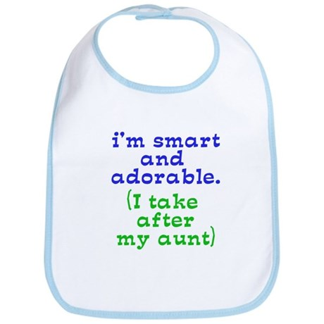 smart and adorable like my aunt Bib