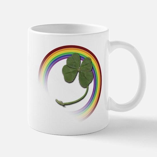 Unique 4 leaf clover Mug