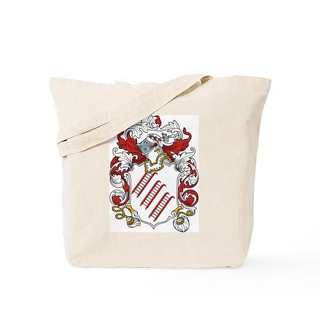 Keeling Coat of Arms Tote Bag