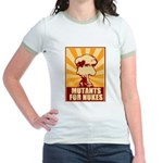 Mutants For Nukes Jr. Ringer T-Shirt