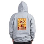 Mutants For Nukes Zip Hoodie