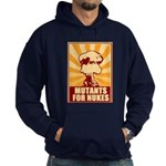 Mutants For Nukes Hoodie (dark)