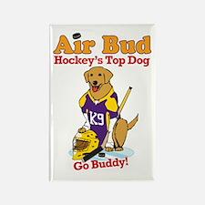 Air Bud Hockey Rectangle Magnet