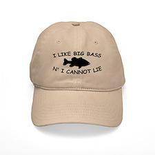 I LIKE BIG BASS N' I CANNOT L Baseball Cap