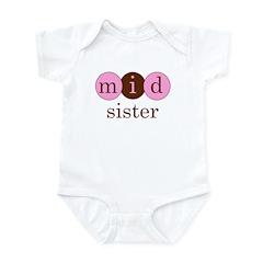 Mid Sister (Middle Sister Cir Infant Bodysuit