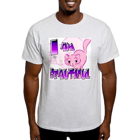 Clip Cat Ash Grey T-Shirt