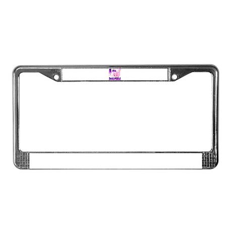 Clip Cat License Plate Frame