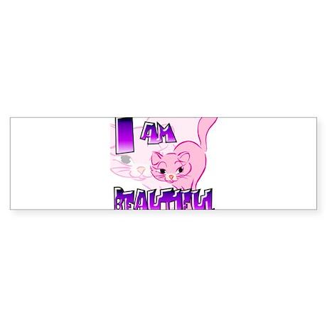 Clip Cat Bumper Sticker