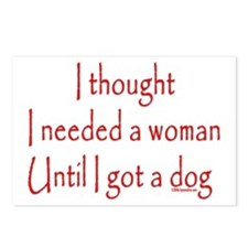 Got a dog! Postcards (Package of 8)