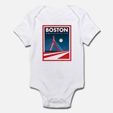 Boston Zakim Bridge Infant Bodysuit