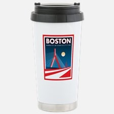 Boston Zakim Bridge Stainless Steel Travel Mug