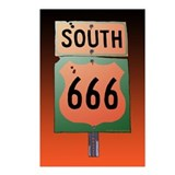 Route 666 Postcards
