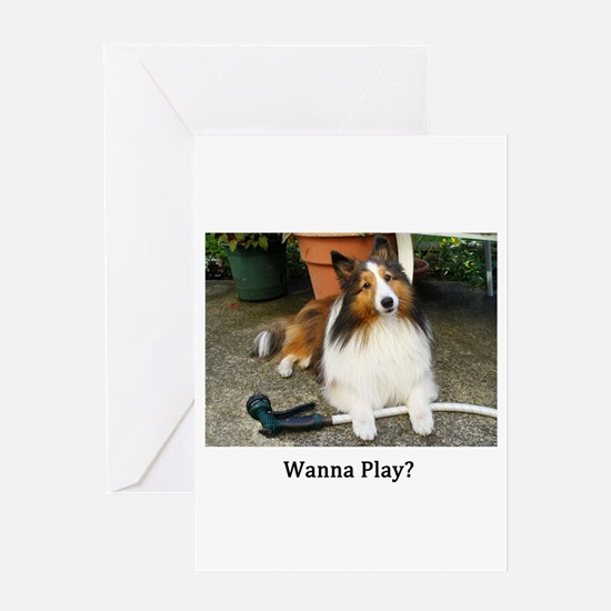 Wanna Play? Greeting Card