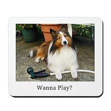 Wanna Play? Mousepad