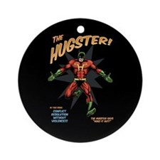 The Hugster! Ornament (Round)