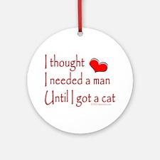 Got a Cat II Ornament (Round)
