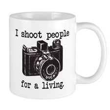 I Shoot People Small Mug