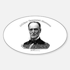 William Sherman 03 Oval Decal