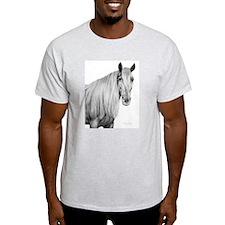 Rocky Mountain Horse 1 Ash Grey T-Shirt