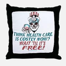 Obama's Health SCARE Throw Pillow