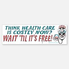 Obama's Health SCARE Bumper Bumper Sticker