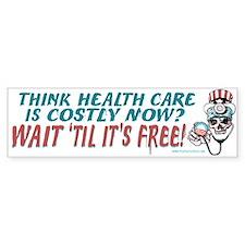 Obama's Health SCARE Bumper Sticker