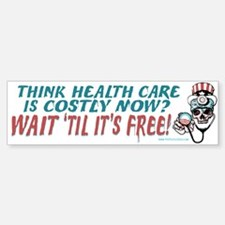 Obama's Health SCARE Sticker (Bumper)