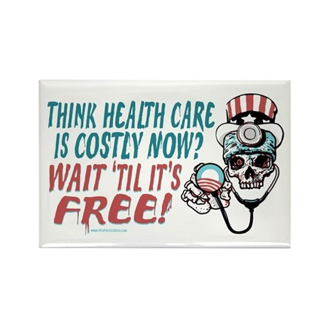 Obama's Health SCARE Rectangle Magnet