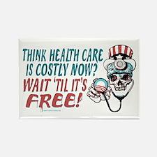 Obama's Health SCARE Rectangle Magnet