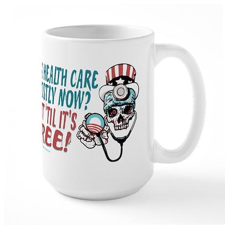 Obama's Health SCARE Large Mug