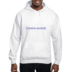 Citation Needed Hoodie