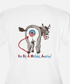 Obama Mistake 2 Sided T-Shirt