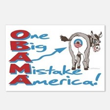 Obama Big Ass Mistake Postcards (Package of 8)