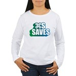 Command S Saves Women's Long Sleeve T-Shirt