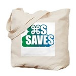 Command S Saves Tote Bag