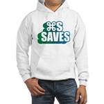 Command S Saves Hooded Sweatshirt
