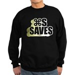 Command S Saves Sweatshirt (dark)
