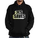 Command S Saves Hoodie (dark)