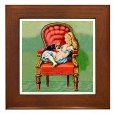 ALICE AND DINAH Framed Tile