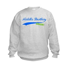 Middle Brother Again Kids Sweatshirt