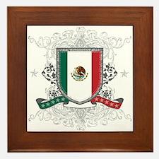 Mexico Shield Framed Tile