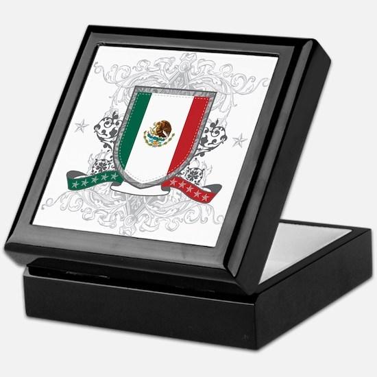 Mexico Shield Keepsake Box