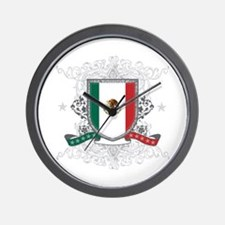 Mexico Shield Wall Clock