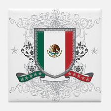 Mexico Shield Tile Coaster