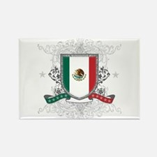 Mexico Shield Rectangle Magnet