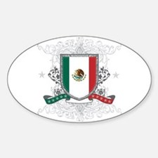 Mexico Shield Decal