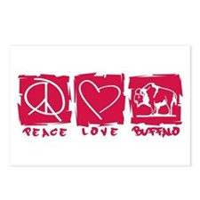 Peace.Love.Buffalo Postcards (Package of 8)