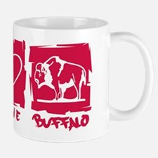 Peace.Love.Buffalo Mug