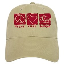 Peace.Love.Buffalo Baseball Cap