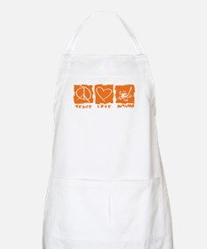 Peace.Love.Autumn Apron